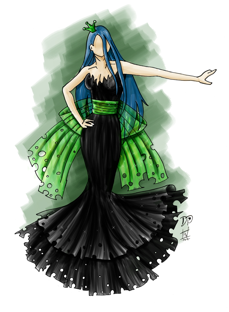 Cosplay Couture No. 2 - Queen Chrysalis by thesilvermaiden