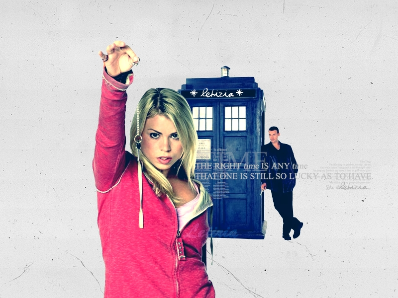 Doctor Who Wallpaper by Letizia