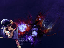 Doctor Who Wallpaper2 by Letizia