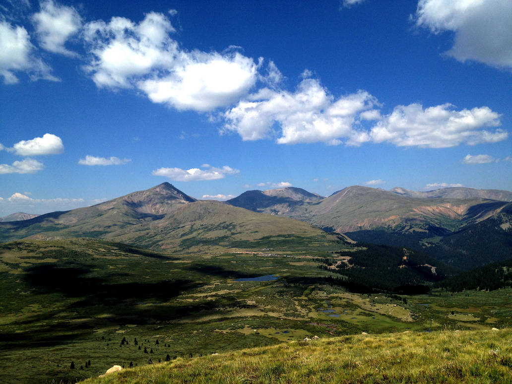 Climbing Mount Bierstadt by satsui