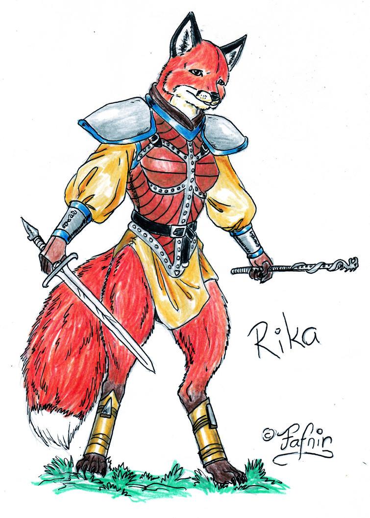 Rika by MachaetFafnir