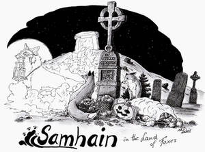 samhain in the land of foxes
