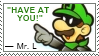 Have At You Stamp by YourSuperHeroine
