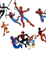 This is not just spiderman, its SPIDERMEN by ultimatejulio