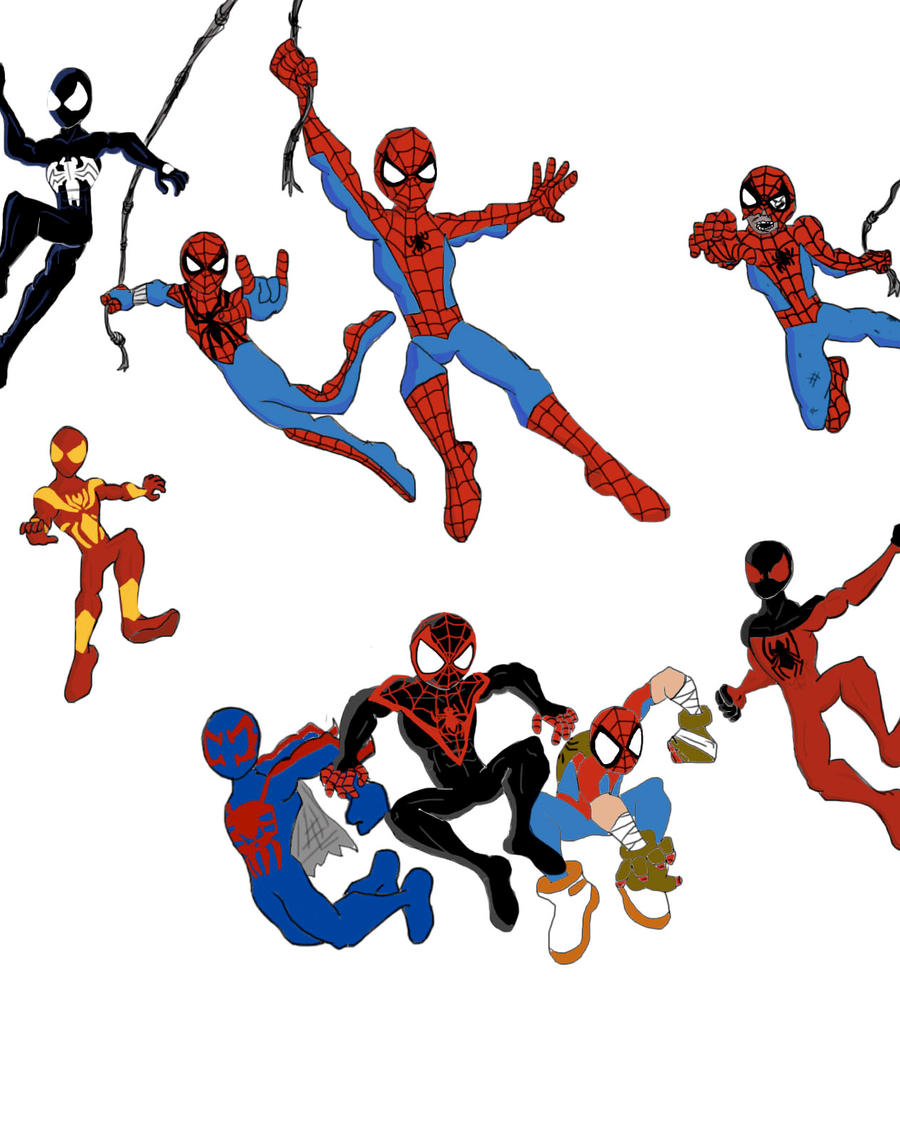 this is not just spiderman its spidermen by ultimatejulio on