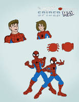 What if? SPIDER-MEN The amazing and Ultimate peter by ultimatejulio