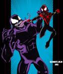 Ultimate comics spiderman: miles vs venom!