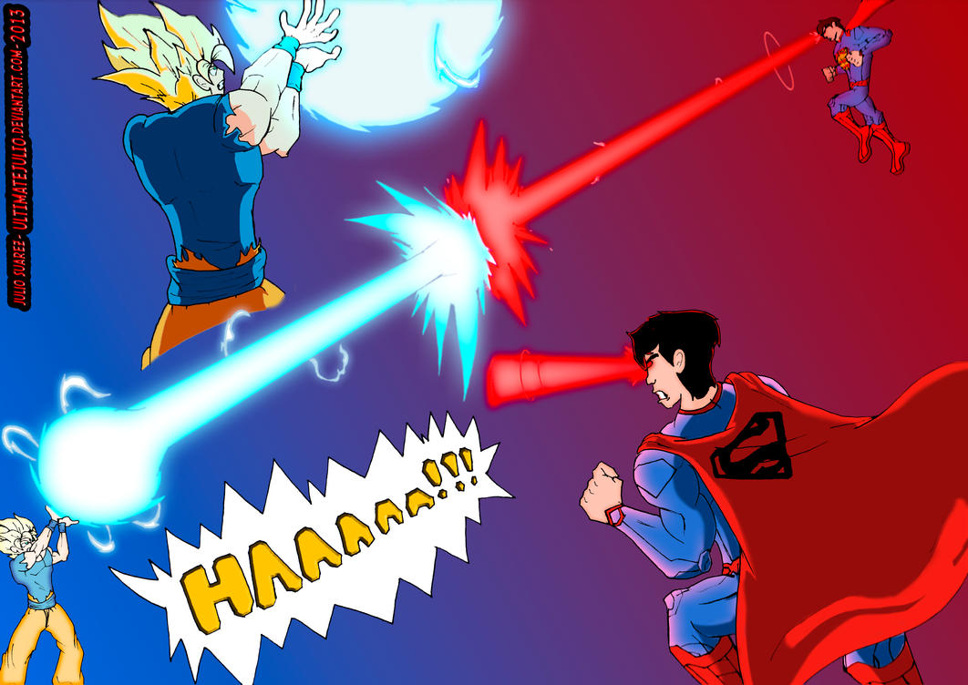 Goku vs superman the ultimate battle (4 of 4) by ...