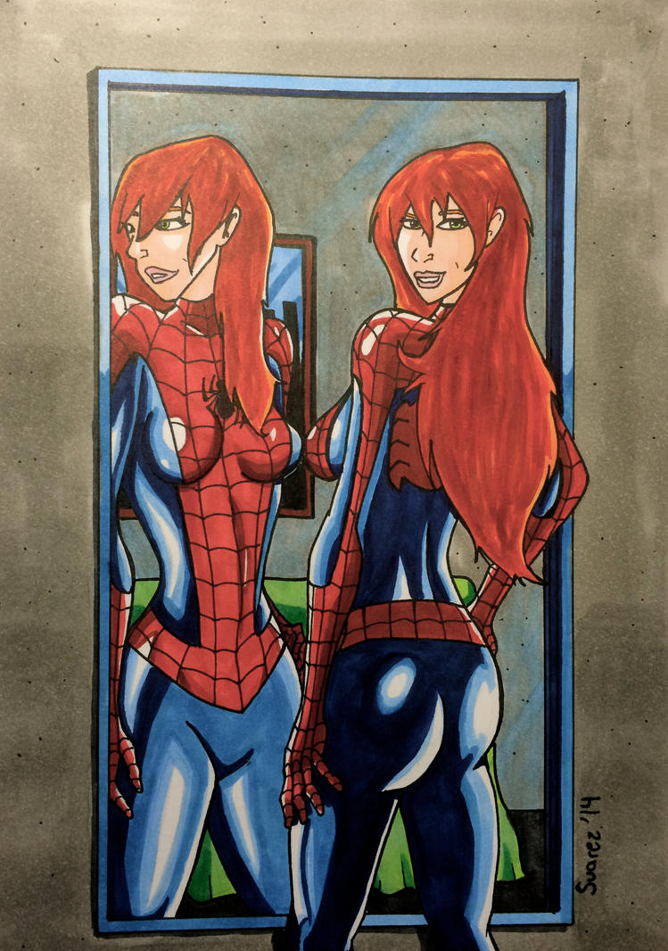 Mary Jane Watson, The Amazing... Spiderwoman?! by ...