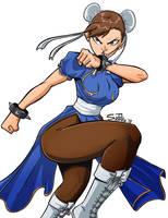 Chun Li! by ultimatejulio