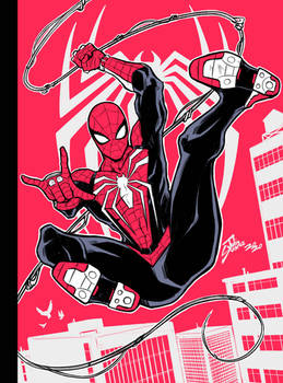 RED 1/50: Spider-man PS4