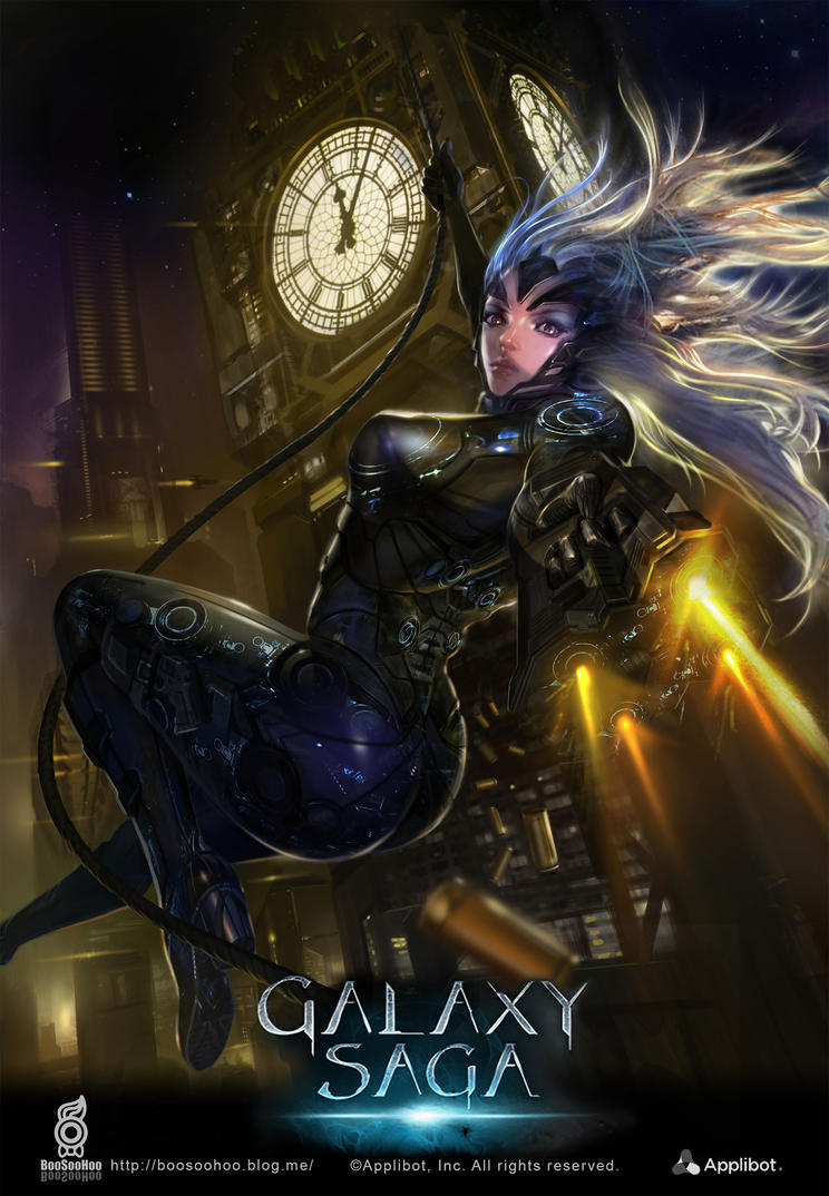 Galaxy saga by boosoohoo