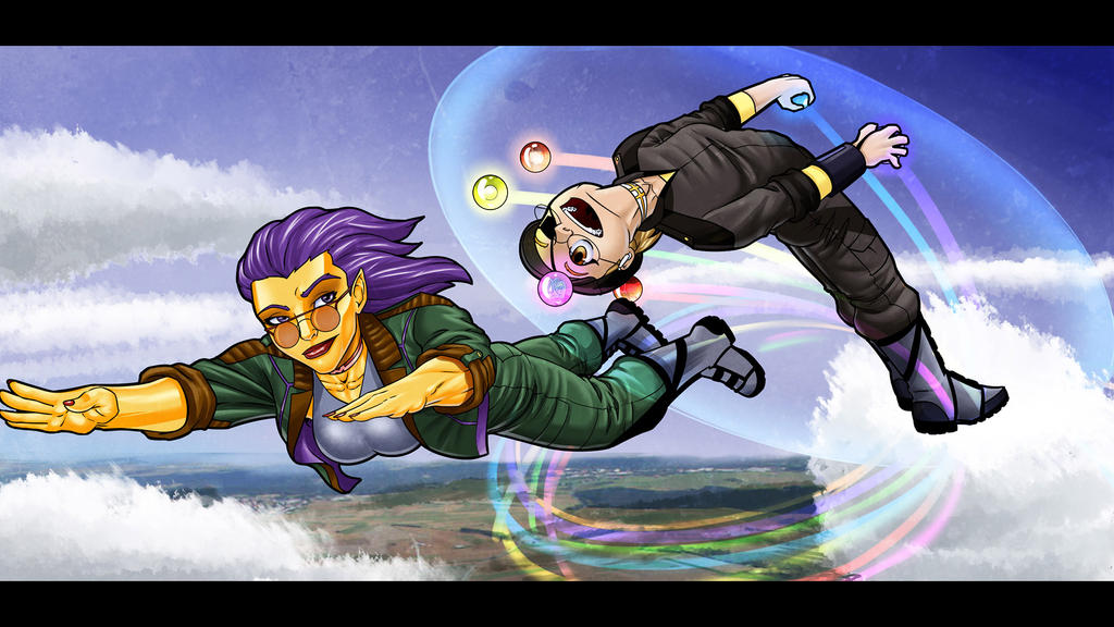 The joy of flight (letterboxed) by DaveBarrack