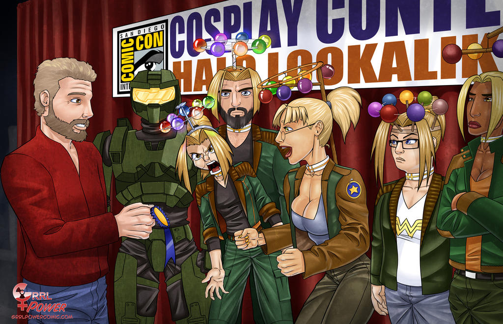 Halo Lookalike Contest by DaveBarrack