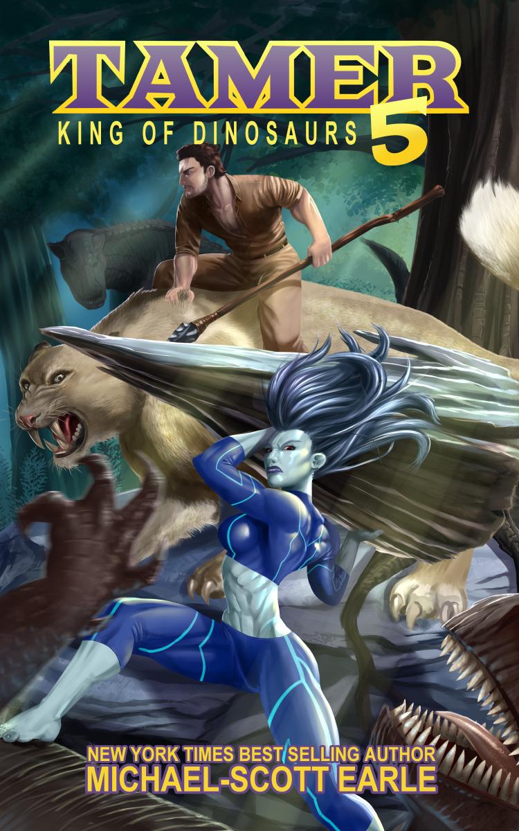 Tamer 5 Fan Art Cover by DaveBarrack