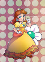 Princess Daisy by Rosealine-Black