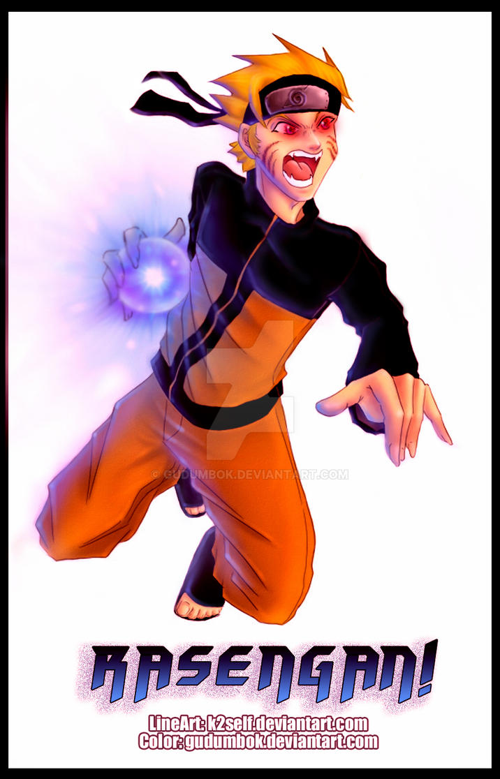Collab wth k2self naruto by gudumbok