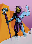 Skeletor color