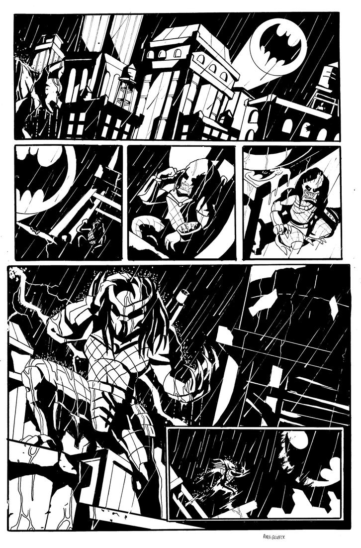 Predator in Gotham City by MegaRyan104
