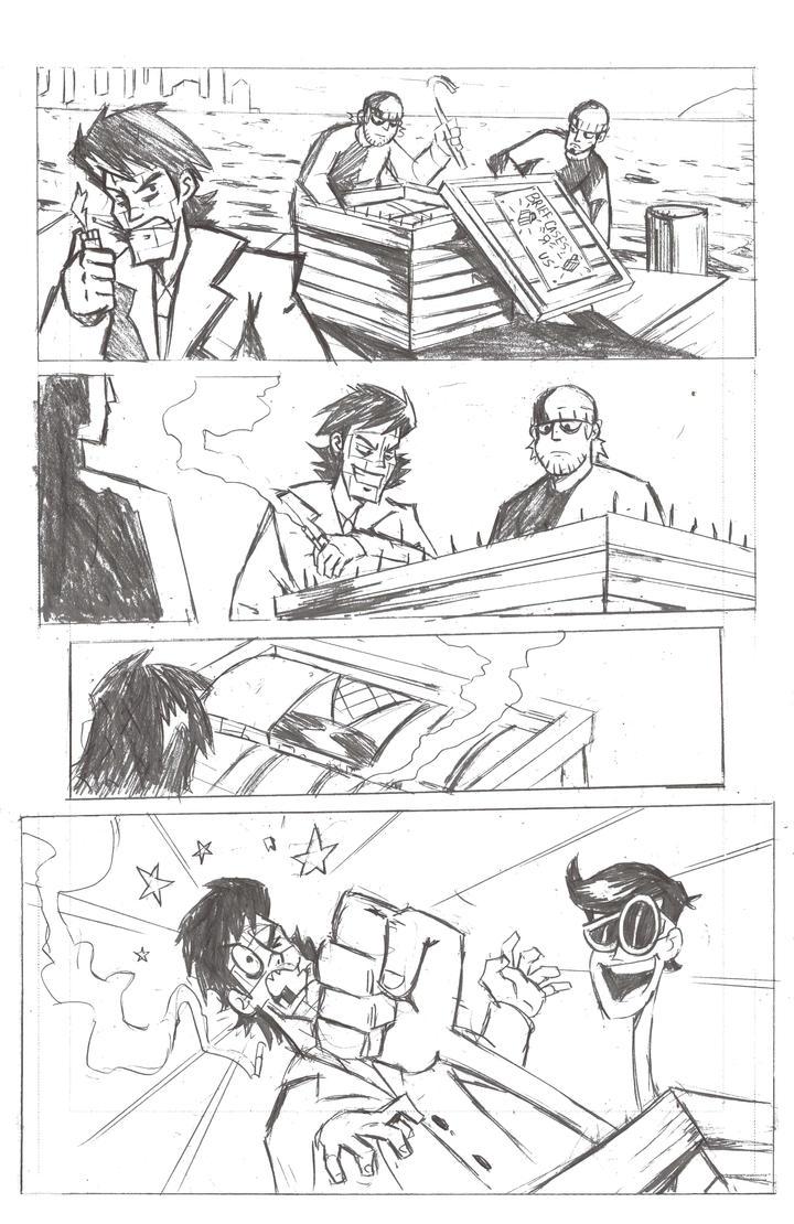 Plastic Man Page 1 by MegaRyan104