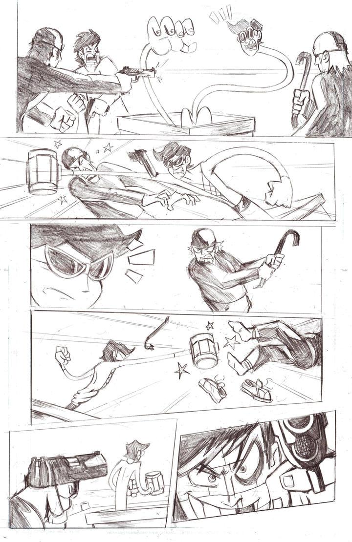 Plastic Man Page 2 by MegaRyan104