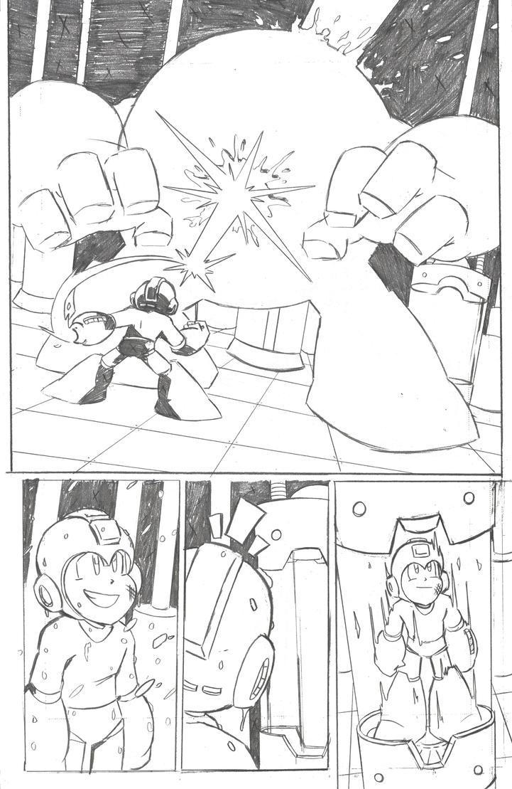 Mega Man Issue 4 Page 4 by MegaRyan104