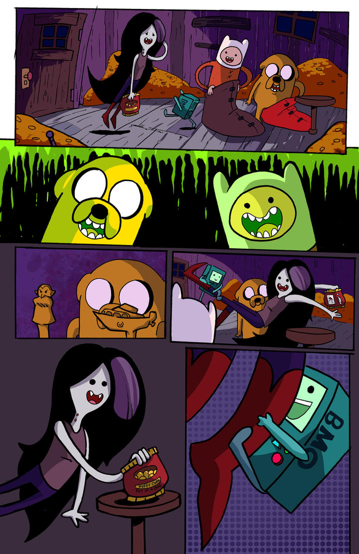 Adventure Time Sample Page 2 by MegaRyan104