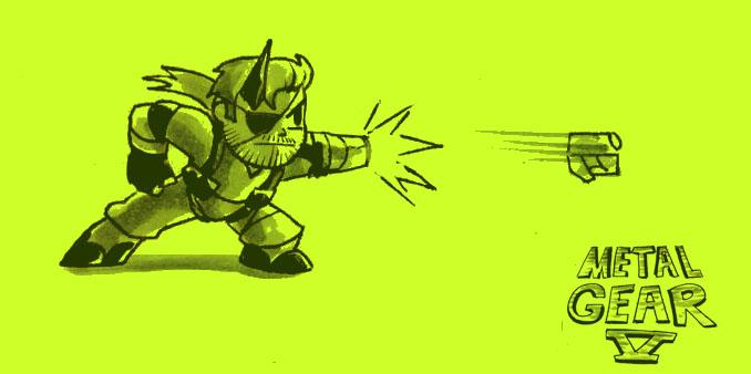 Metal Gear V by MegaRyan104