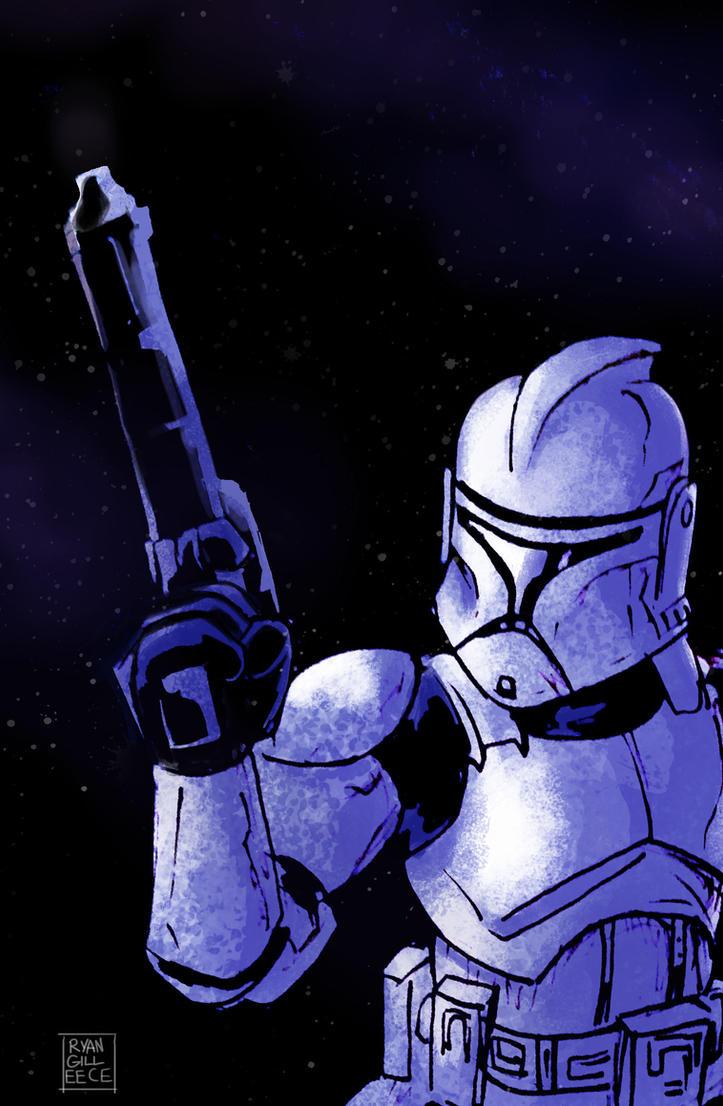 Clone Trooper by MegaRyan104