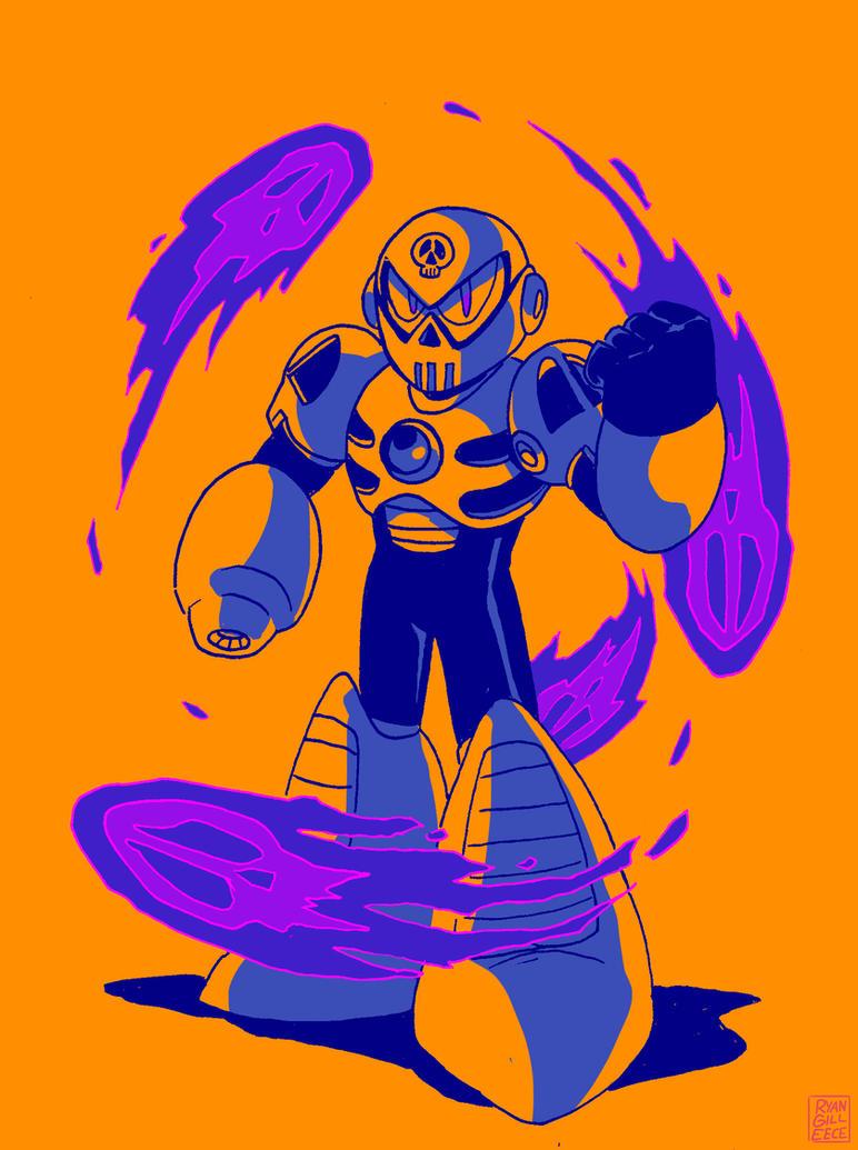 SKULL MAN by MegaRyan104