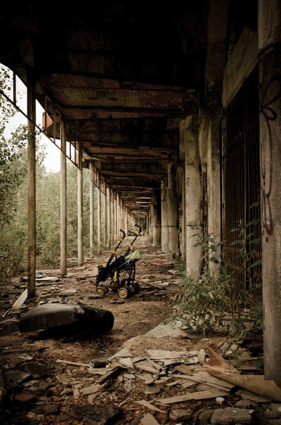 Street Photography - Consonno by Rivolta