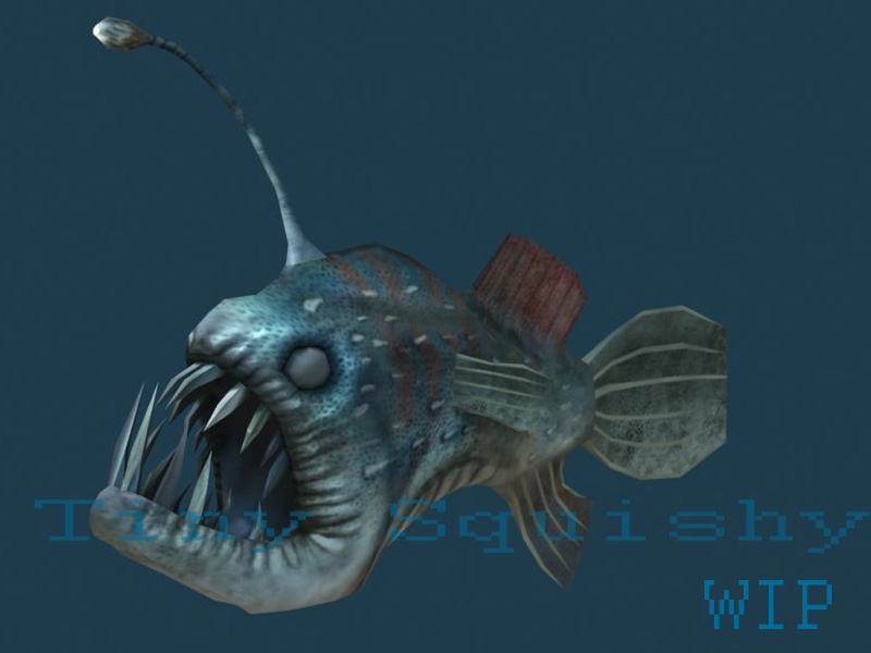Angler fish art for What is an angler fish
