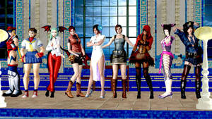 My favorite Capcom girls of all time!! by AnthonyMidnight