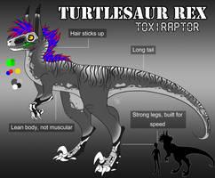 2014 Turtlesaur Toxiraptor Ref by TurtlesaurRex