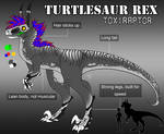 2014 Turtlesaur Toxiraptor Ref