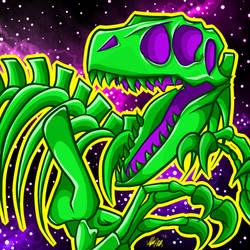 Spooky Scary Skeleton by TurtlesaurRex