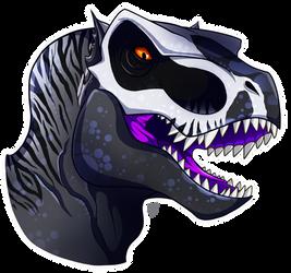 Dinovember Day 4- Xiout by TurtlesaurRex