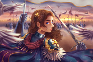 Joan of Arc : Act and God Will Act by Wyncrosstanza