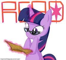 twilight sparkle READ ! by Marenlicious