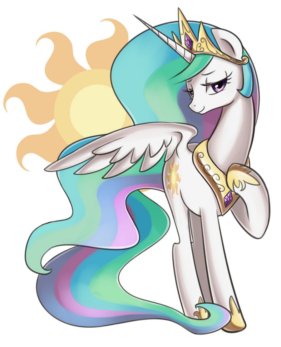 Princess Celestia by Marenlicious
