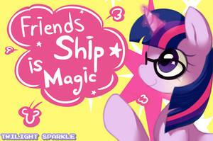 Twilight sparkle FIM ! by Marenlicious