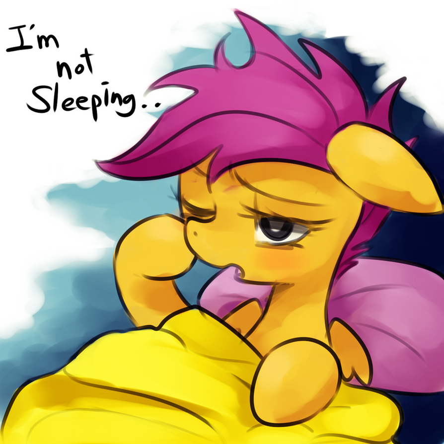 I'm not sleeping.. by Marenlicious