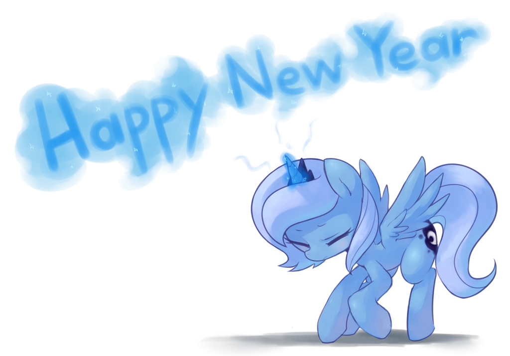 Happy New Year for Luna by Marenlicious