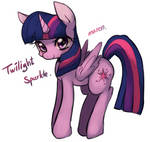 Twilight sparkle.