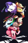 Private detective Pinkie pie.