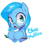 New Blue Muffins