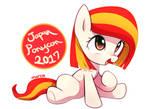 Filly Poniko : Japan Ponycon 2017