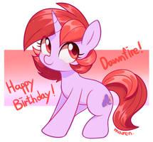Birthday gift for Dawnfire