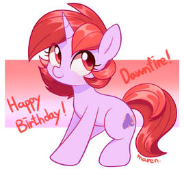 Birthday gift for Dawnfire by Marenlicious