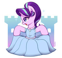 Princess dress glimmy by Marenlicious